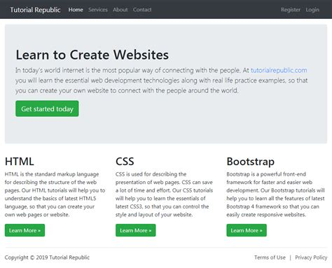 working  bootstrap  fluid layout tutorial republic