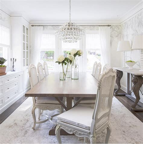 Dining Room White Dove Cabinets Pictures, Decorations
