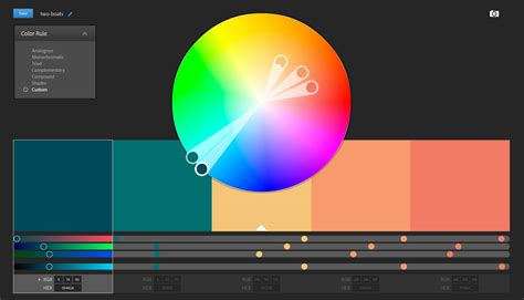 color wheel adobe how to work with adobe color cc adobe kuler to enhance