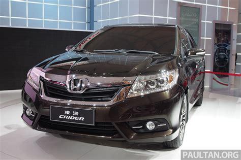 Shanghai 2018 Honda Crider Production Car Debuts Image 170532