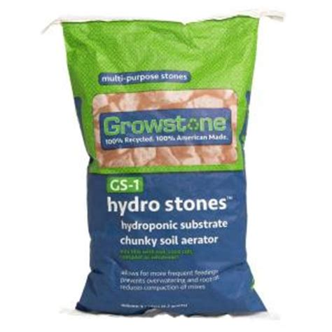 grow ls home depot growstone 9 l gs 1 hydro stones bag gs1123 the home depot