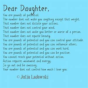 pounds of potential a father39s letter to his daughter With letters to your daughter