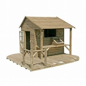 Maison Enfant Castorama : maisonnette topiwall ~ Premium-room.com Idées de Décoration