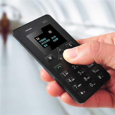 Fri, jul 30, 2021, 4:00pm edt M5 Credit Card Sized Mobile Phone - NoveltyStreet