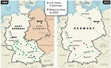 Map Us Army Bases In Germany | Elbe, Graf