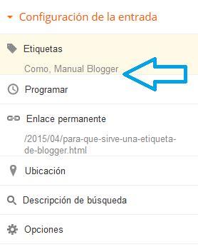 Para Que Sirve Una Etiqueta Blogger Ayuda