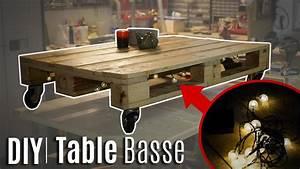 Table Basse Palettes : comment fabriquer une table basse en palette youtube ~ Melissatoandfro.com Idées de Décoration