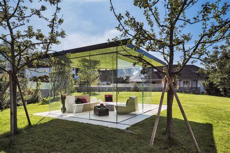 glaspavillon luxurioese rundumsicht glasvetia
