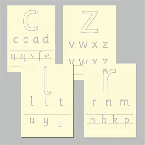letter formation tracing boards literacy  early