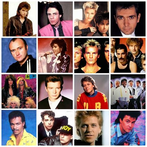 1980'S Billboard #1 Singles Artists & Bands by Photo 5 ...