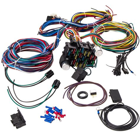 3 Circuit Universal Wiring Harnes Kit by 21 Circuit Wiring Harness Rod Universal Wire Kit For