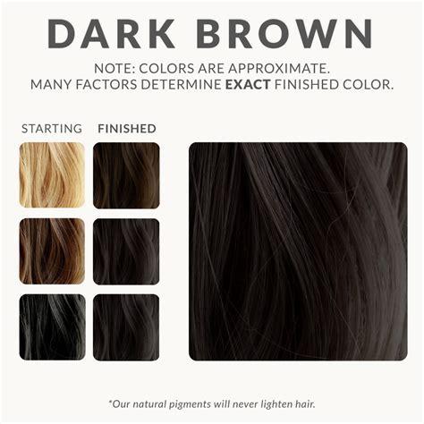 best natural black hair dye dark brown henna hair dye