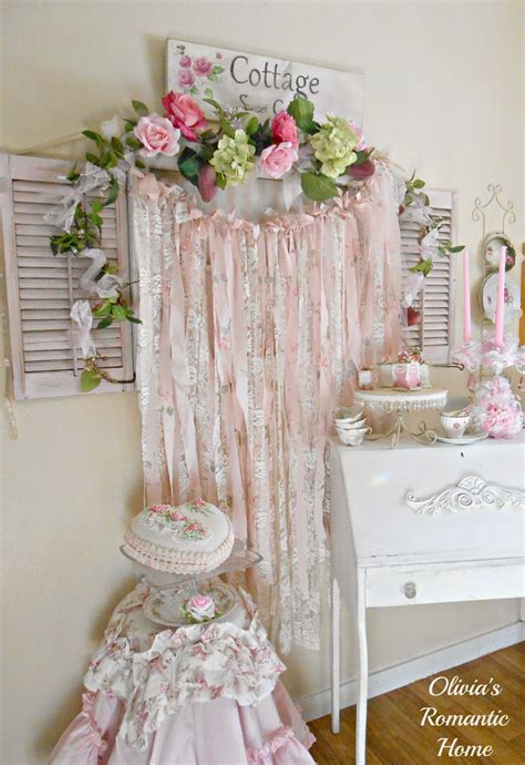 Olivias Romantic Home Shabby Chic Rag Garlands