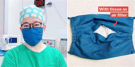 taiwanese doctor teaches   diy cloth face mask