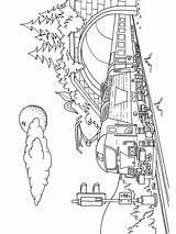 Trein Train Kleurplaat Leukekleurplaten sketch template
