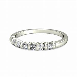 Round Diamond Wedding Band For Her On Sale JeenJewels