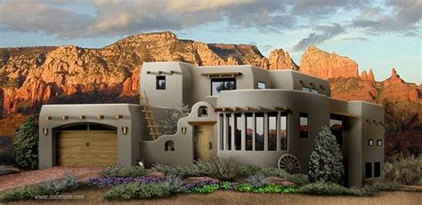 Southwestern Style Homes by Southwest Style Pueblo Desert Adobe Home Cob Earthbag Ston