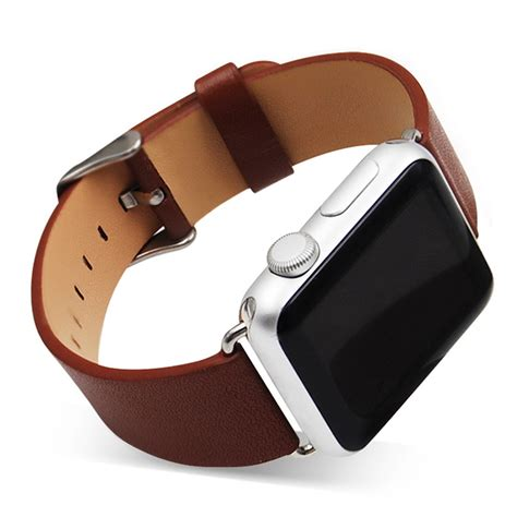 genuine leather watchband 22mm starp for apple watch band ...