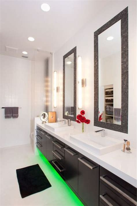 Interior Design Ideas For Small Bathrooms by Using Led Lighting In Interior Home Designs