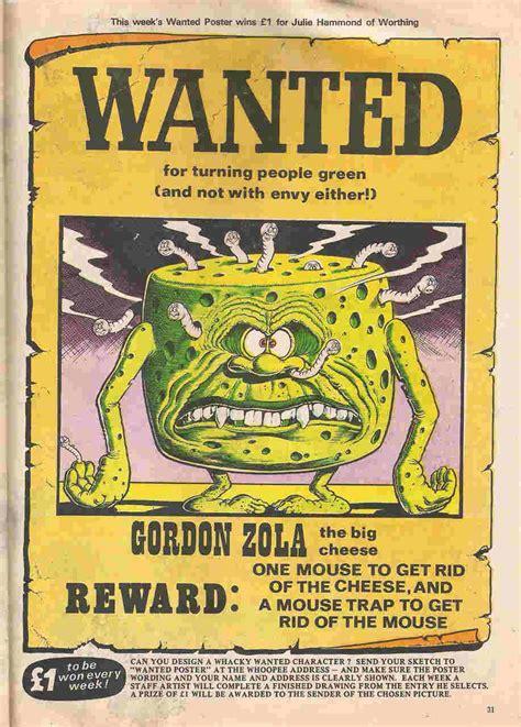 peter grays comics  art ken reids wanted posters