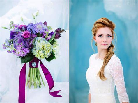disneys frozen inspired wedding shoot midway ice castles