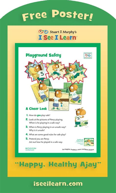 quot percy plays it safe quot playground safety knowing how to 666 | 15724129dcd06cc5ad6dc7107268b286