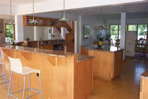 island kitchen bar kitchens chance and associates