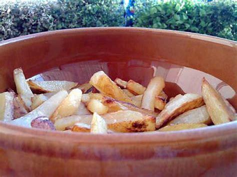 frites maison au four recette de frites maison au four