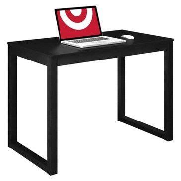 target parsons desk ameriwood industries parsons desk black