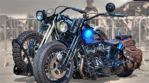 Full Hd Wallpaper Harley-davidson Motorcycle Brutal