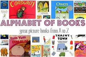 children39s books from a z letter crafts pictures and With letter of the week books