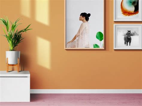 3 beautiful living room interior scenes with photo frames and poster psd mockups to showcase your beautiful photo, design, painting or artwork. Living Room Photo Frames And Poster Mockups by GraphicsFuel (Rafi) | Dribbble | Dribbble