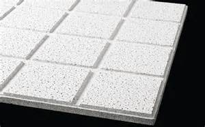 2x4 Suspended Ceiling Tiles by Armstrong Fine Fissured Second Look Forman Building Systems