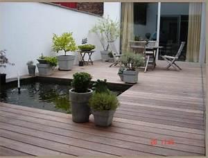 amenager la terrasse de son jardin en espace detente With jardins et terrasses photos 3 amenagement dun espace vert avec terrasse par le