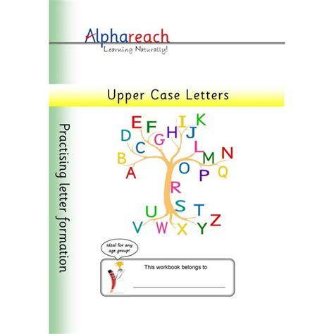 letter formation upper case letters alphareach