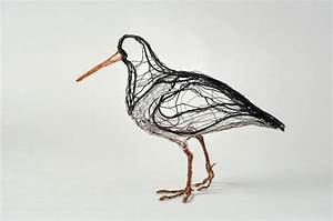 Simply Creative  Wire Bird Sculptures By Celia Smith