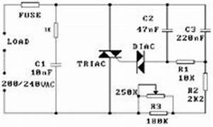 triac in light dimmer cct with snubber blows with motor use With how the snubber circuit is functioning the snubber circuit is one type