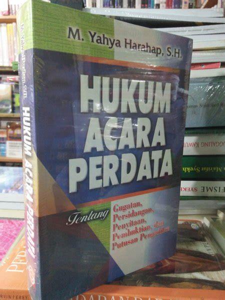Buku Ajar Hukum Perdata jual hukum acara perdata m yahya harahap di lapak toko