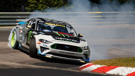 Ford Mustang Drift Nuerburgring by Vaughn Gittin Jr S 900 Hp Ford Mustang Chewed Through