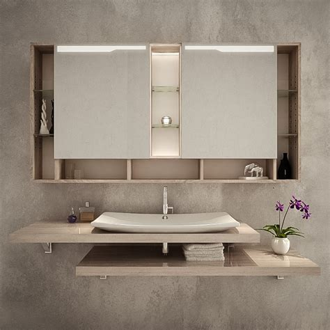 Badezimmer Spiegelschrank Dachschräge by Spiegelschrank F 252 R Das Badezimmer Kaufen Spiegel21