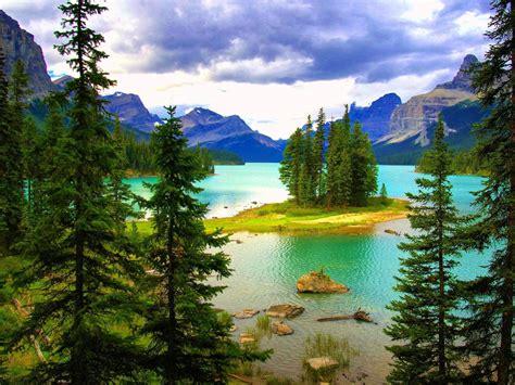 beautiful landscape hd wallpaper turquoise blue lake
