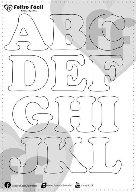 molde de letras sele 231 227 o de moldes de letras para artesanato em feltro moldes de letras
