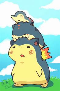cyndaquil evolution line absolutely adorable~ | Pokemon ...