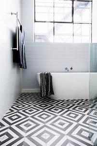 Fliesen Schwarz Weiß : vinyl fliesen schwarz wei modern bathroom design bathroom interior design amazing bathrooms ~ A.2002-acura-tl-radio.info Haus und Dekorationen