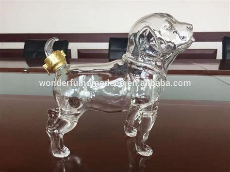 cl handcraft dog shaped wine glass bottles buy odd