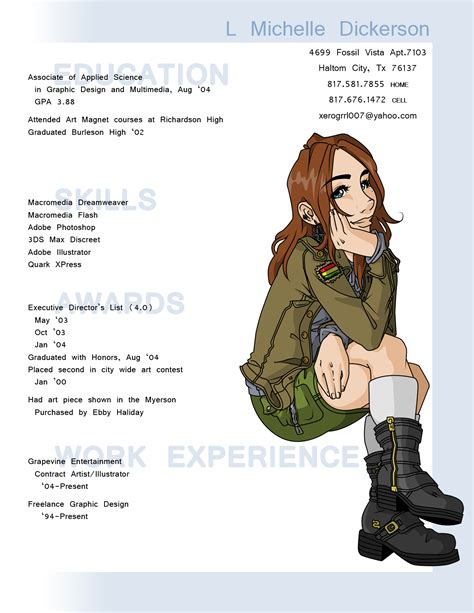 When Will Anime Resume by A Remarkable Cv Design 14 0
