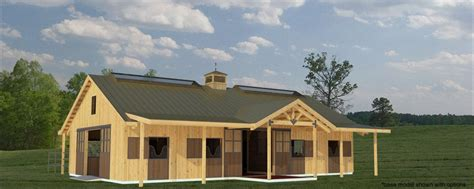 horse stall pole barn horse barn  stable designs equine stables trilogy barn