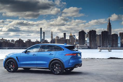 Jaguar's Bestseller, The Fpace, Gets More Tech For '19