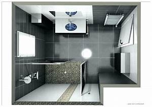 Plan 3d Salle De Bain : idee amenagement salle de bain plan salle de bain 4m2 avec ~ Melissatoandfro.com Idées de Décoration