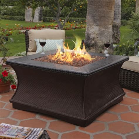 One happy customer wrote,perfect size for our small patio. Fire Pit Coffee Table Ideas ~ Walsall Home and Garden